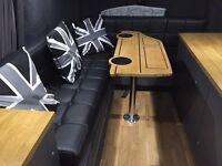 VW transporter camper table