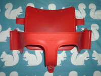 Tripp Trapp highchair Baby Set in Red