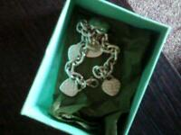 Tiffany's heart bracelet