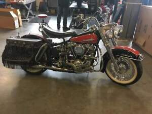 1961 FLH PAN HEAD DUO-GLIDE Harley Davidson AWESOME condition