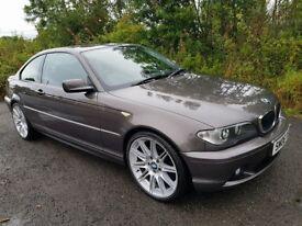 L@@K E46 BMW 318Ci **Havannah..Rare Colour**F.S.H**MOT APRIL 18**19 Inch Alloys**Excellent Example