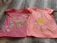 Girls 12-18m top bundle