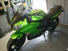 Kawasaki er6f no logbook but regesterd in my name