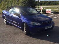 Vauxhall astra convertible 1.8 binatone