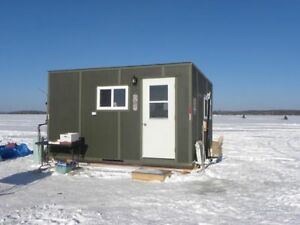 Ice Fishing and Hunting Hut