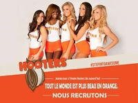 HOOTERS RIVE-SUD recherche Serveuse/Barmaid