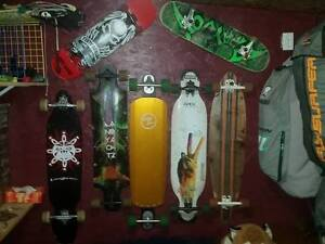 longboards of different types