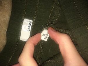 Loose fitting army green Garage pants Kawartha Lakes Peterborough Area image 2