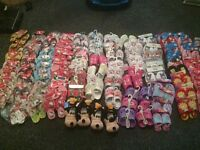 Job lot of childrens footwear