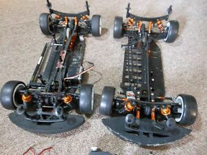 X-Ray RC car chassis