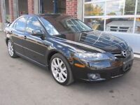 WOW LOADED 2007 MAZDA 6 GT $6,999.00 145,000 KM CERTIFIED