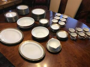 DINNER SET FOR 12 + ROSENTHAL 87 PCS.