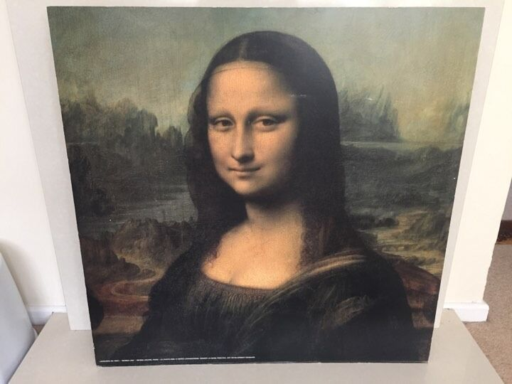Very Big Wooden Mona Lisa Picture Dropped to £10 ono