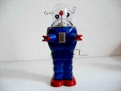 Blechspielzeug - Roboter Space Trooper, groß, blau  1962007