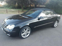 Convertible -- Mercedes-Benz CLK 3.0 -- Automatic -- Part Exchange Welcome --- Drives Good