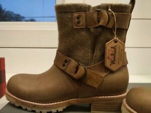 Brand new with tags Woolrich Baltimore Harness Boot - beige