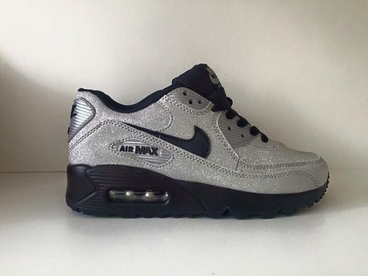 ... Brand new GLITTER Nike air max sparkle trainers size 3 ... 7ca3273f55b1