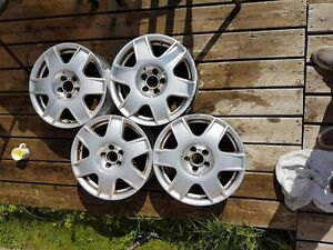 2002 VW Golf Rims