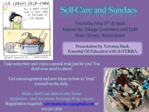 Essential Oils and Self-Care Classes in Waterdown