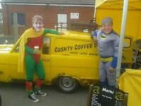 Coffee van food trailer catering
