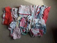 0-3 months girls summer bundle