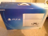 PS4 - 500GB, Glacier White, With Box