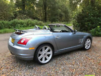 CONVERTIBLE, 2005 V6,3.2 AUTO CROSSFIRE ''ROADSTER' MOT 1 YEAR 160K 1 OWNER F,S,H,