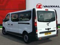 2017 Vauxhall Vivaro 1.6 Cdti 2900 Biturbo Combi Van 5dr Diesel Manual L2 H1 Eu6