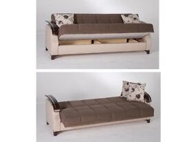 BRAND NEW ITALIAN FABRIC SOFA BED!!!!!! ----LIMITED OFFER----