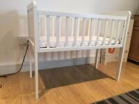 Mothercare Hyde Crib with mattress