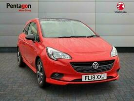 image for 2018 Vauxhall CORSA 3 DOOR 1.4i Turbo Red Edition Hatchback 3dr Petrol s/s 150 P