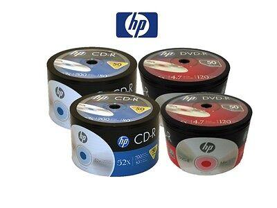 200 Hp Logo Blank Disc Combo (100 Pieces 16x Dvd-r & 100 ...
