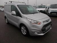 Ford Transit Connect 1.6 TDCI 115PS LIMITED VAN DIESEL MANUAL SILVER (2015)
