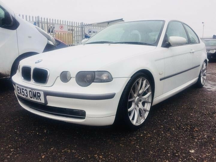 2003 BMW 3 Series CompactWhiteFull Service History