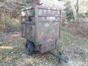 PORTABLE ATV HUNTING BLIND