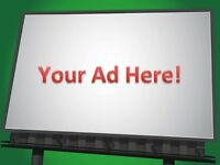 Need more exposure for your business?  Electronic billboard!
