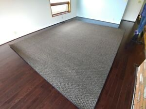 Large custom indoor area carpets - in new condition