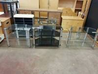 Large selection of television units, £10 each
