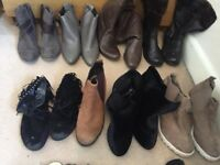 Joblot ladies boots and sandals size 5