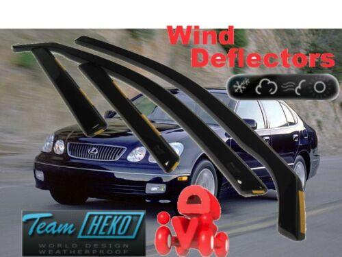 LEXUS GS 300 II 1998 - 2005  4.doors  Wind deflectors  4.pc  HEKO  30002