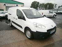 Peugeot Partner 716 S 1.6HDI 92ps Crew Van DIESEL MANUAL WHITE (2012)