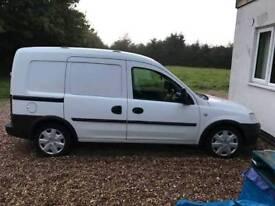 Vauxhall combo crew cab 1.7cdti van