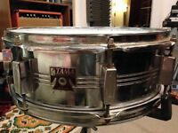 80's Tama Swingstar Snare Drum & Stand