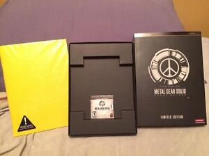 metal gear solid peace walker limited edition psp playstation