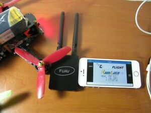 FUAV 5.8ghz vidéo receiver for all mobile devices iPhone