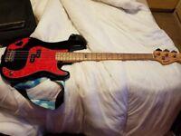 Squier Precision Pete Wentz Signature Bass Guitar