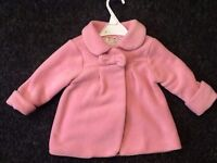 Mothercare Jackets 12-18 months Pink Jacket Excellent condition