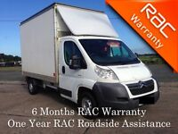 2007 Citroen Relay 35 120 Luton with Full Year PSV