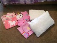 toddler quilt pillow &