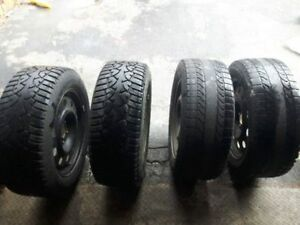 Tires on rims 235/55/17 w/ TPM sensors from Ford Crown Victoria